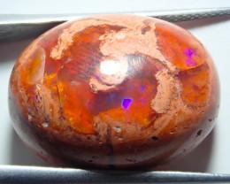 19.16ct Mexican Matrix Cantera Multicoloured Fire Opal