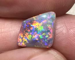 2.63 cts Dark Nobby Crystal Opal - Lightning Ridge