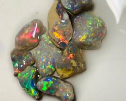 Multicolour Rough Nobby Opal to Cut