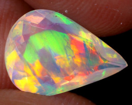 1.69cts Natural Ethiopian Faceted Welo Opal / NY3687