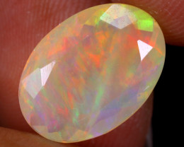 2.80cts Natural Ethiopian Faceted Welo Opal / NY3693