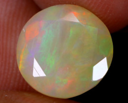 3.08cts Natural Ethiopian Faceted Welo Opal / NY3695