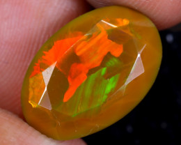 4.65cts Natural Ethiopian Faceted Welo Opal / NY3738