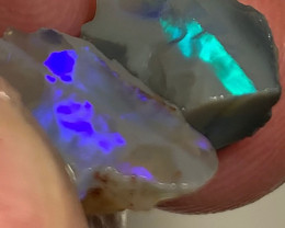 Cutters Select Pair of Rough Seam Opals to Cut & Polish
