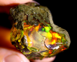 124cts Ethiopian Crystal Rough Specimen Rough / CR5516
