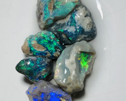 30 CTs of Bright Rough Opals to Cut- Plz see the video #657