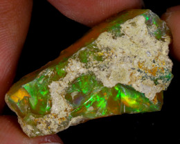 18cts Natural Ethiopian Welo Rough Opal / WR9483