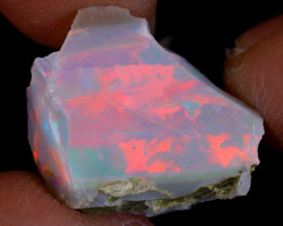 6cts Natural Ethiopian Welo Rough Opal / WR9519