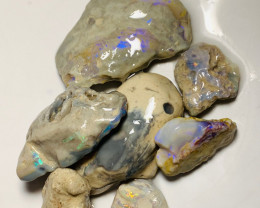 Untouched Multicolour Rough Seam Opals Straight from The Field