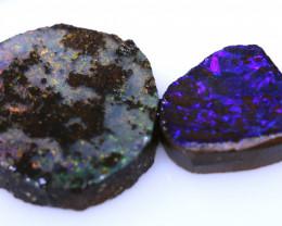 19.50 Cts Boulder Opal prefinished Rub Parcel Ado-A296    Adopals