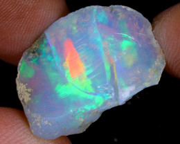 17cts Natural Ethiopian Welo Rough Opal / WR9550