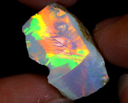 15cts Natural Ethiopian Welo Rough Opal / WR9554