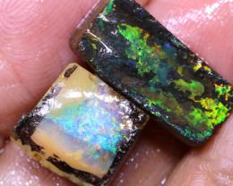 9.95 Cts Boulder Opal prefinished Rub Parcel Ado-A306   Adopals