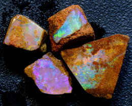 9.65 cts Boulder Pipe Opal  Rough Parcel ADO-A312  - adopals