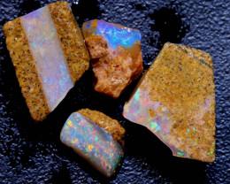 8.35 cts Boulder Pipe Opal  Rough Parcel ADO-A316 - adopals