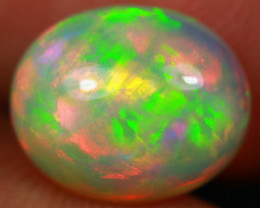 2.60CT 11X9MM Broadflash Pattern!! Natural Ethiopian Opal-GA278
