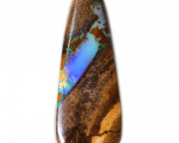 29.8 CTS BOULDER PIPE WOOD FOSSIL POLISHED STONE  [CS1064]