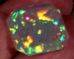 8.38CT GRAND MASTER TWO SIDED FACETED ETHIOPIAN WELO CHAFF/HONEYCOMB!!