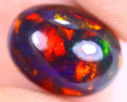 2.80cts Natural Ethiopian Welo Smoked Opal / UX1887