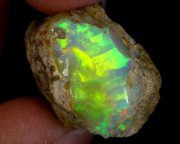 16cts Natural Ethiopian Welo Rough Opal / PA953