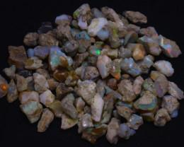 206Grams  1030Ct Multi Color Play Ethiopian Welo Opal Rough JN231
