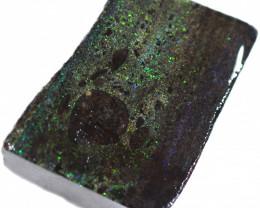 120.00 cts Andamooka rainbow matrix rough   [NR187]