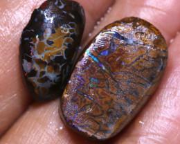 16.90cts Koroit Opal Pre Shaped Rub Parcel ADO-A546  adopals