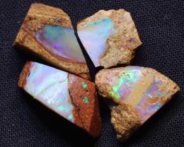 23.81 carats Boulder Pipe Opal Rough Parcel ANO-3552