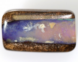 9.15 CTS BOULDER PIPE WOOD FOSSIL OPAL STONE  WINTON FS533