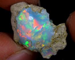 6cts Natural Ethiopian Welo Rough Opal / PA1110