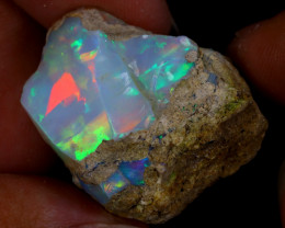45cts Natural Ethiopian Welo Rough Opal / WR9615