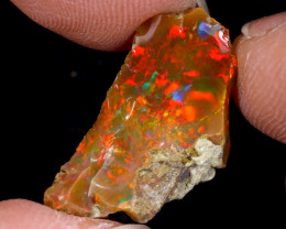4cts Natural Ethiopian Welo Rough Opal / WR9631