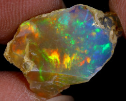 3cts Natural Ethiopian Welo Rough Opal / WR9633