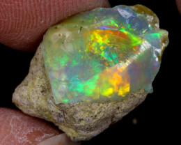 6cts Natural Ethiopian Welo Rough Opal / WR9639