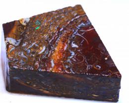 150.30 cts Yowah Opal Rough Slice D-136    Daviddarbyopals