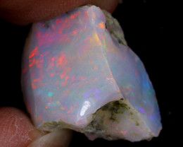 14cts Natural Ethiopian Welo Rough Opal / WR9651