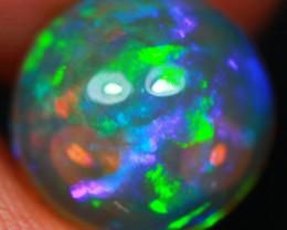 3.28 CT Dark Base!! Purple Hue!!!! Natural Ethiopian Opal-GA364