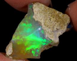 11cts Natural Ethiopian Welo Rough Opal / PA1150