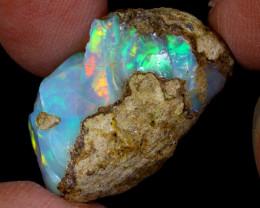 22cts Natural Ethiopian Welo Rough Opal / PA1191