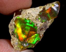 6cts Natural Ethiopian Welo Rough Opal / PA1199