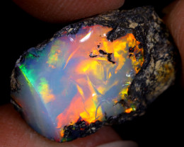 8cts Natural Ethiopian Welo Rough Opal / PA1208