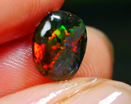 1.10 CT Rare Gorgeous Indonesian Wood Fossil Opal Polished