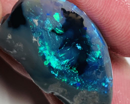 Astonishing Super Bright Semi Black Picture Opal Rub#931