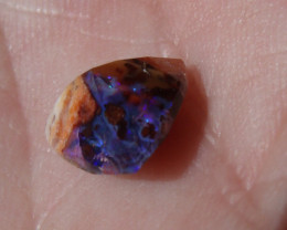 1.88 Ct Faceted Mexican Cantera Fire Opal