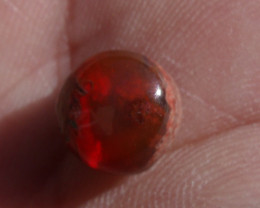 2.78 Ct. Mexican Cantera Fire Opal Cabochon