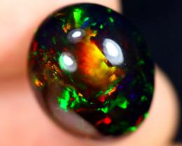 10.73cts Natural Ethiopian Welo Smoked Opal / JABF538