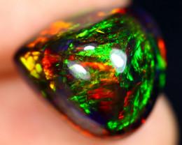 6.29cts Natural Ethiopian Welo Smoked Opal / JABF539