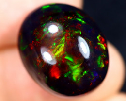 15.09cts Natural Ethiopian Welo Smoked Opal / JABF540