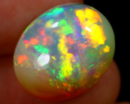 9.76cts Natural Ethiopian Welo Opal / ABF576