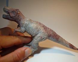 800ct Dinosaur Figurine Mexican Cantera Fire Opal